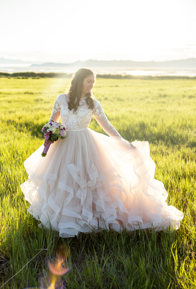 Tunnel Springs Park Bridals | Utah Wedding Photographer