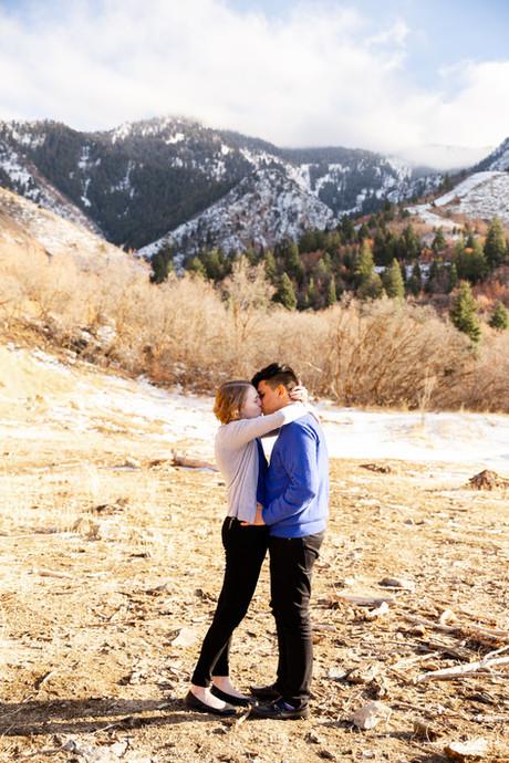 Salt Lake City Engagements   Utah Engagement Photographer