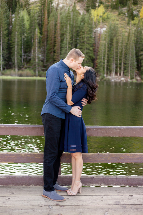 Silver Lake Engagements   Utah Engagement Photographer