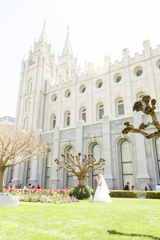 Salt Lake Temple Wedding | Utah Wedding Photographer