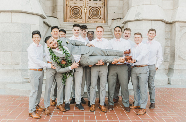 Salt Lake Temple Wedding   Utah Wedding Photographer
