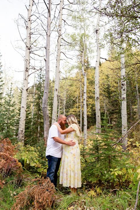 Big Cottonwood Canyon Maternity Photos   Utah Maternity Photographer