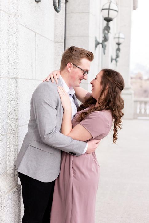 Utah State Capitol Engagements | Utah Engagement Photographer