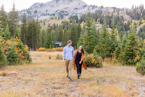 Silver Lake Engagements | Utah Engagement Photographer