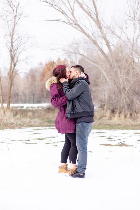 Wheeler Farm Engagements | Utah Engagement Photographer