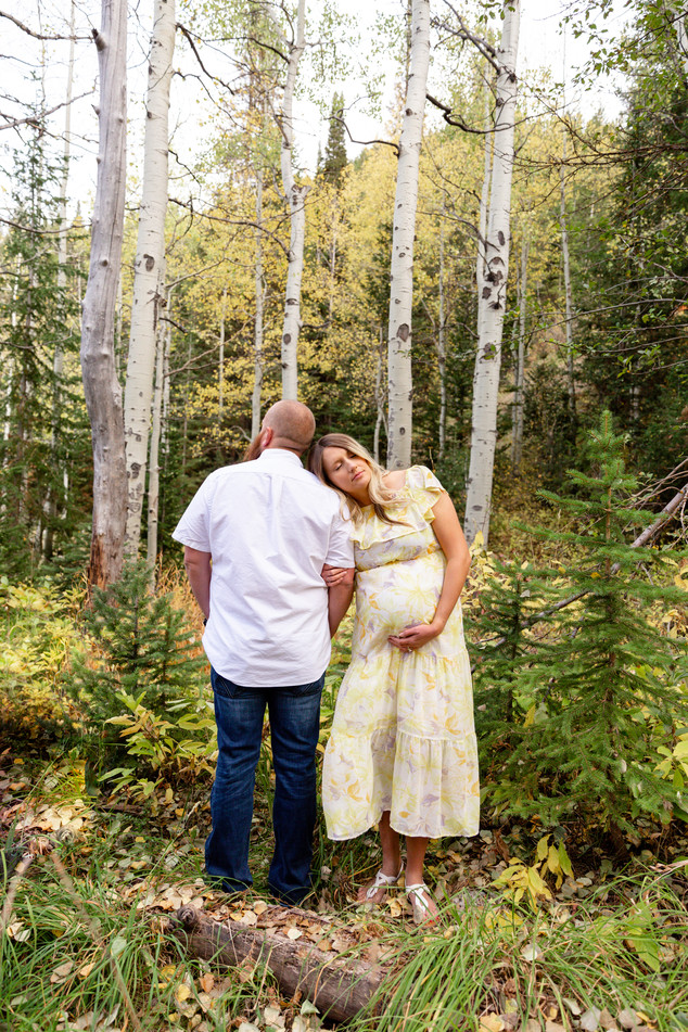 Big Cottonwood Canyon Maternity Photos | Utah Maternity Photographer