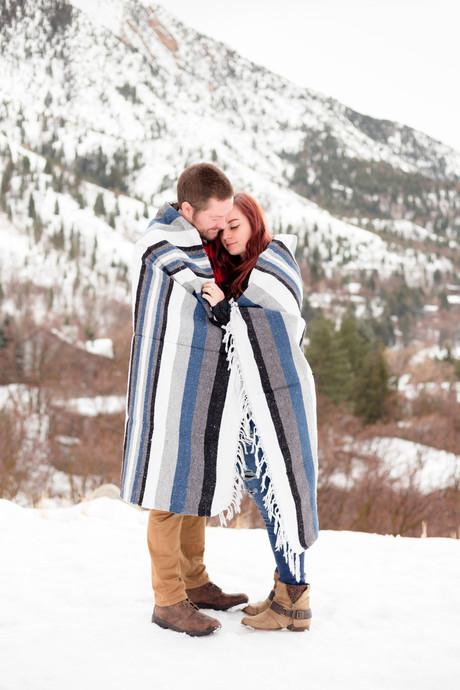Neff's Canyon Engagements   Utah Engagement Photographer