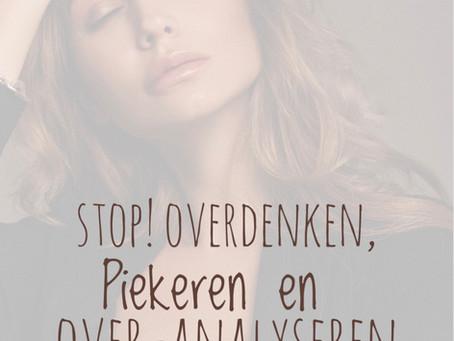 Stop overdenken