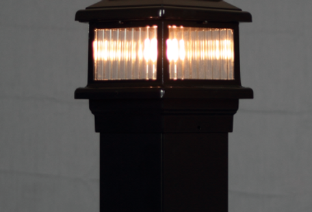 Aurora Titan Lighted Post Cap