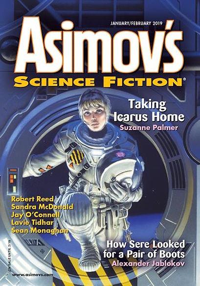 Asimovs SF magazine January-February 201