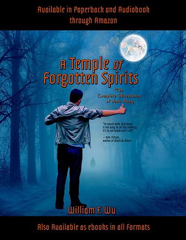 A Temple of Forgotten Spirits flyer copy