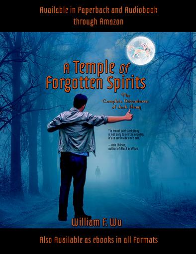 A Temple of Forgotten Spirits flyer copy