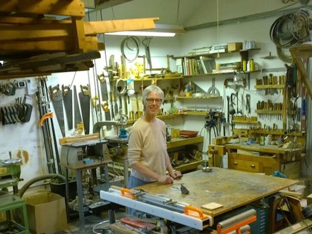 Studio visit with the sculptor Pat Keck