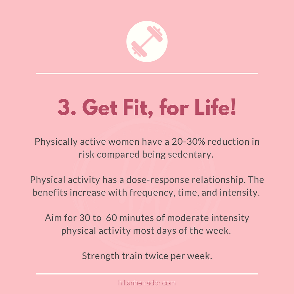 Physical activity plays an important role in breast cancer prevention. Read more here.