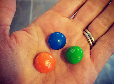 M&Ms Won't Fix a Broken Ankle, and You Can't Eat a Motivational Quote.