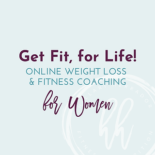 Get Fit, for Life!