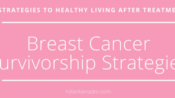 Breast Cancer Awareness: Healthy Survivorship