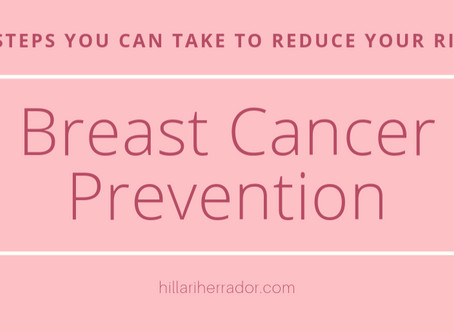 Breast Cancer Prevention: 5 Steps You Can Take to Reduce Your Risk