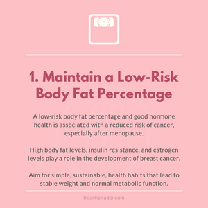 How does body fat percentage affect breast cancer risk? Read the article to learn more.