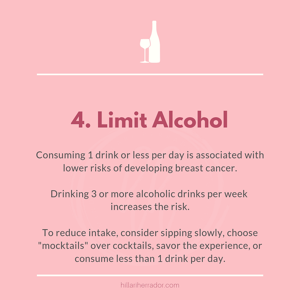 The number of weekly drinks a person consumes is linked to their breast cancer risk. Find out more here.
