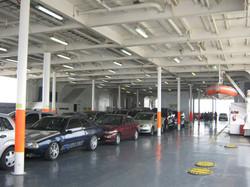 Interior-Transporte de veiculos