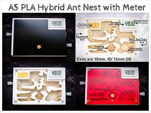 Ant Farm Hybrid Nest with Meter Formicarium Farm Housing