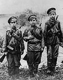 Сыны полков русской армии на фронте перв