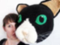 Un gros chat et moi