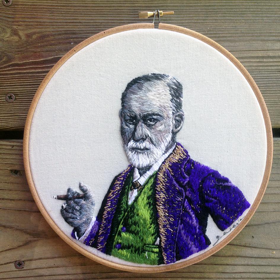 Portrait de Freud