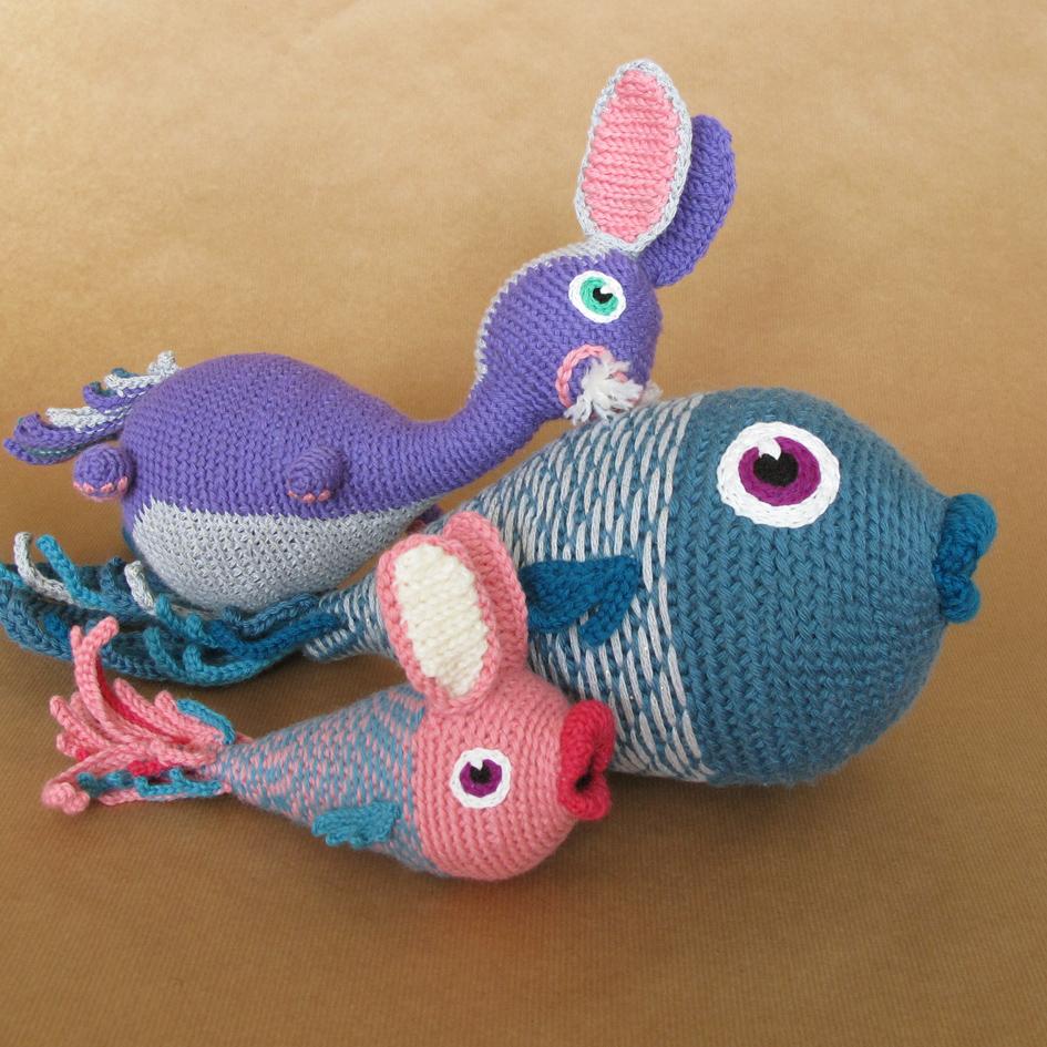 Poisson en crochet + bébés