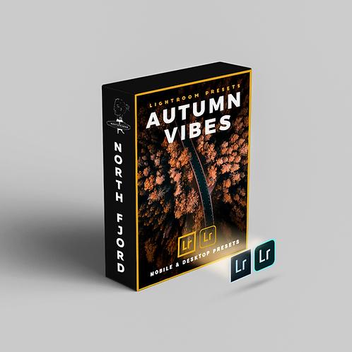 Autumn Vibes - Preset Pack for Lightroom Mobile & Desktop