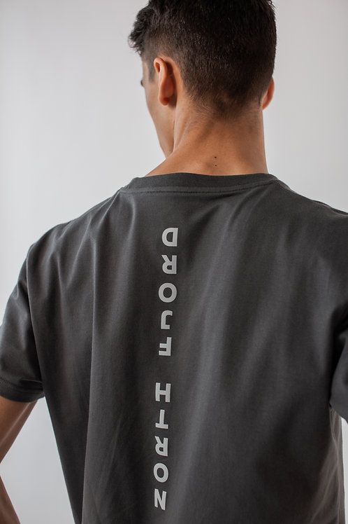 Stone Grey Long Fit Unisex T-shirt
