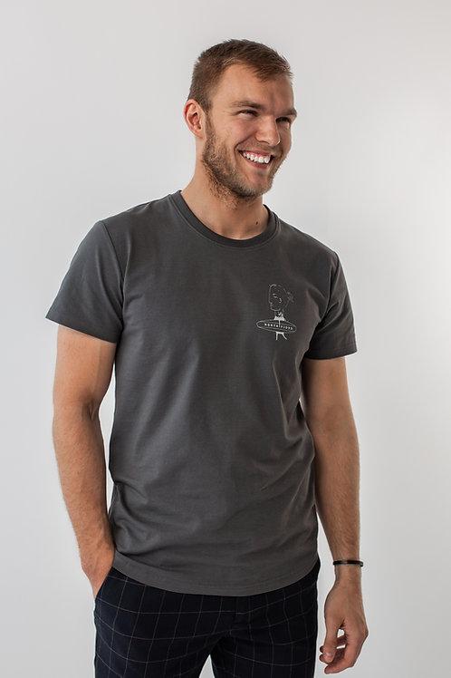 Stone SCOTT Long Fit Unisex T-shirt