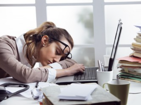 Why Are Desk Workers So Tired?