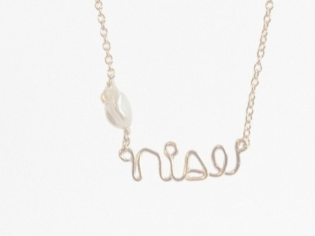 Introducing our 'RISE' Necklace