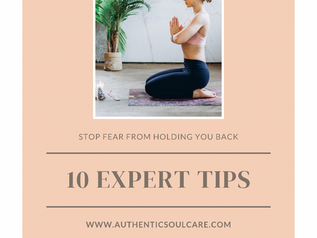 How To Stop Fear From Holding You Back