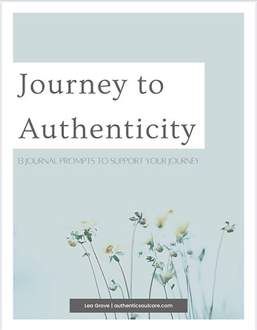 The Authenticity Journal image of front