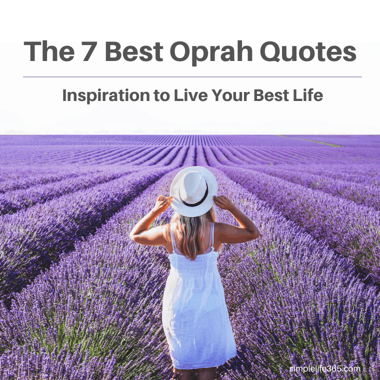 The 7 Best Oprah Quotes