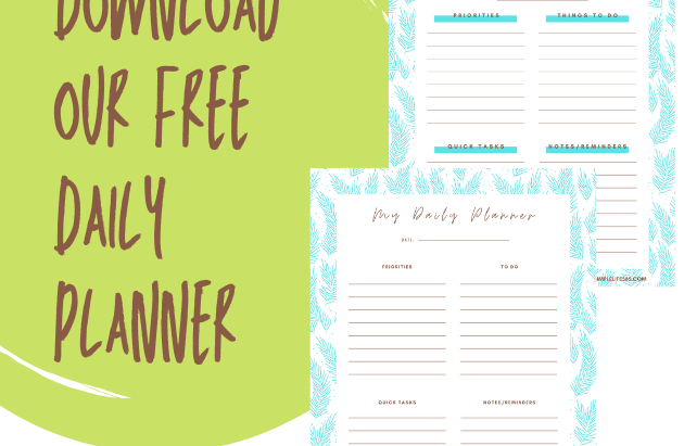 Get Your Free Daily Planner