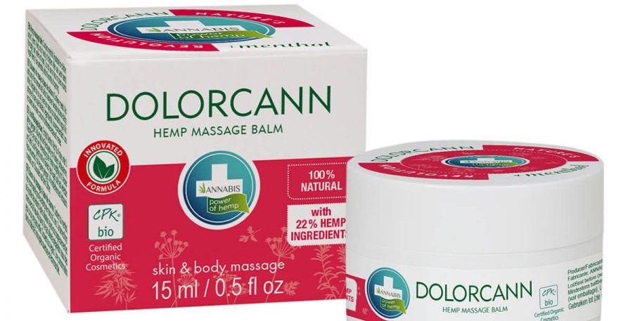 Annabis Dolorcann Balsamo per massaggio antidolorifico alla canapa (15ml)