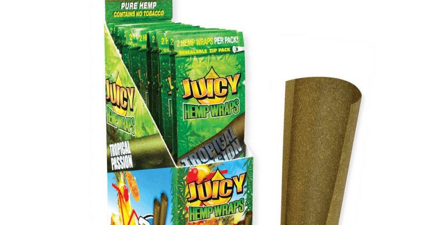 Juicy Jay's Hemp Wraps Blunt Tropical passion