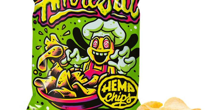 Hemp Chips Amnesia Patatine Artigianali alla Cannabis senza THC