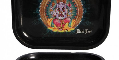 Vassoio per Rollare 'Black Leaf'
