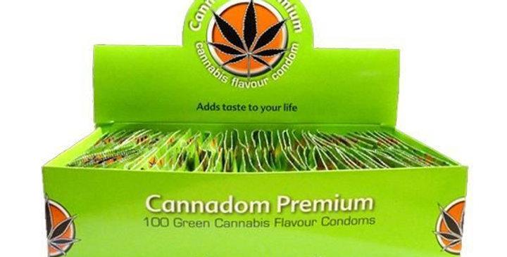 Preservativi Aromatizzati alla Cannabis