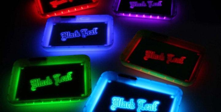 "Vassoio di miscelazione LED ""Black Leaf"""