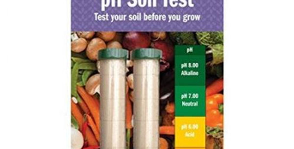 garden ph test per terreno