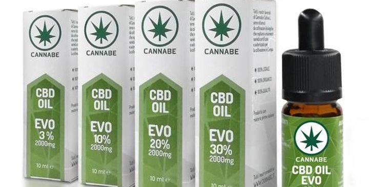 CANNABE CBD OIL EVO 3% 10ML