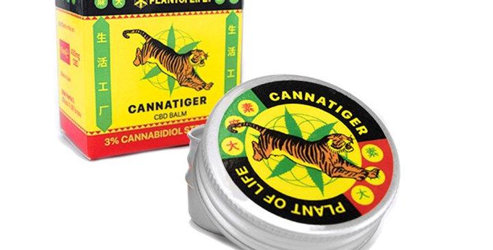 Cannatiger Balsamo con CBD 3% – 450mg (15ml)