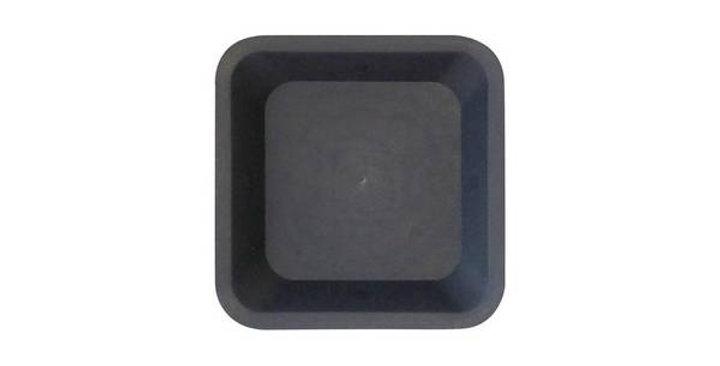 Sottovaso quadrato per vasi fino a 18L.