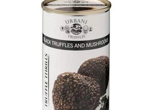 Black Truffles and Mushrooms 6.1oz (180gr)